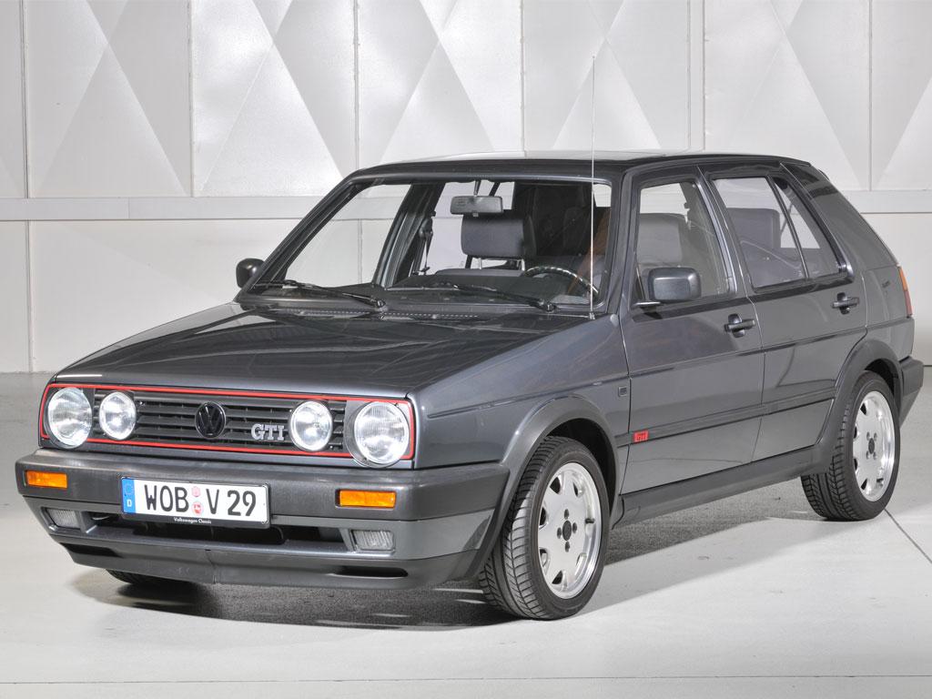 VW Golf II GTI, Volkswagen Classic, #AltesBlechAlteGrenze