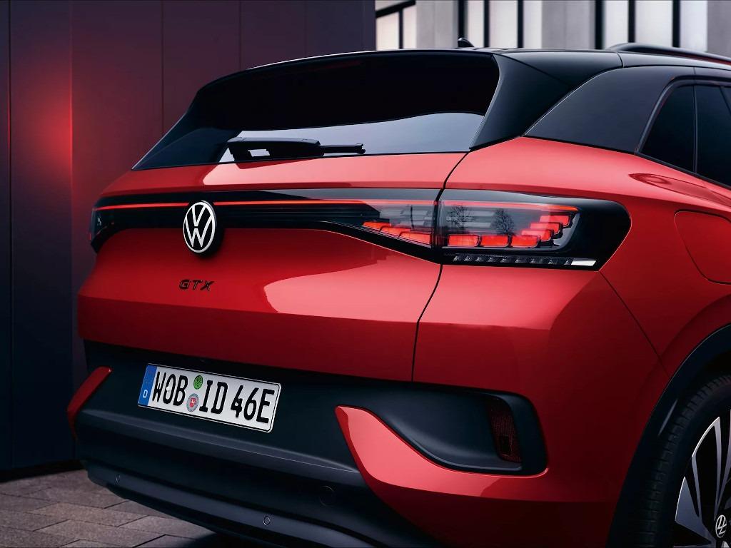 VW ID.4 GTX Heck, LED-Rückleuchten