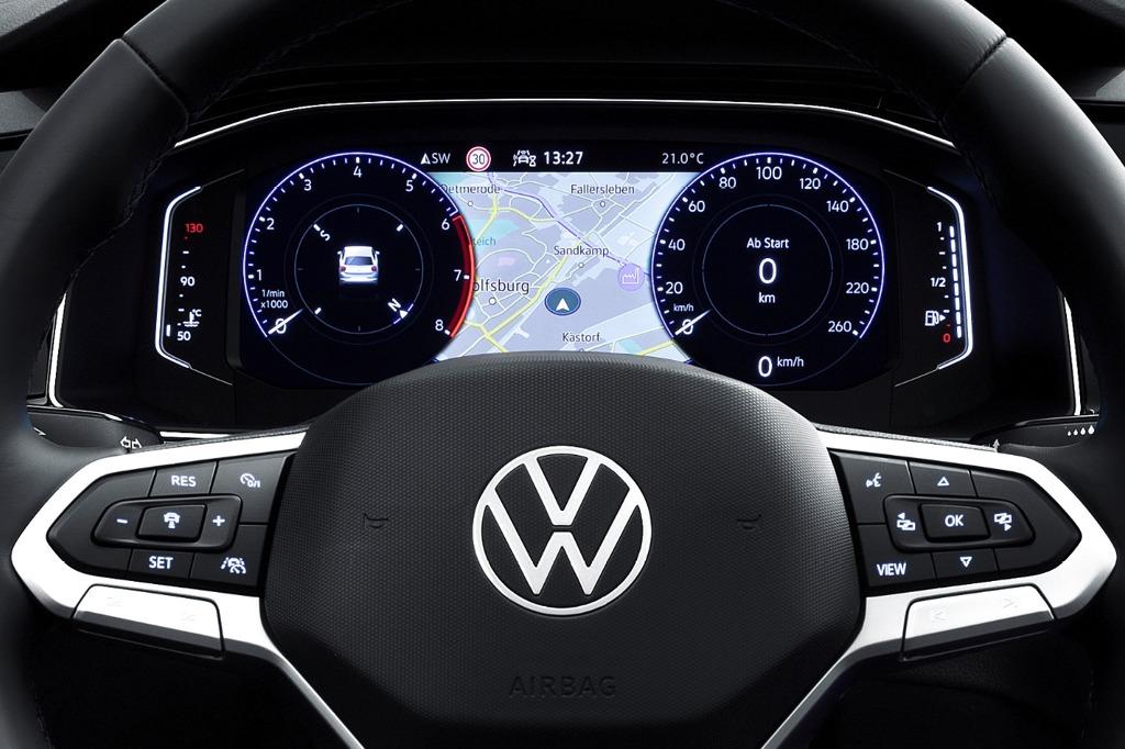 Digital Cockpit Pro im neuen VW Polo (Modelljahr 2022)