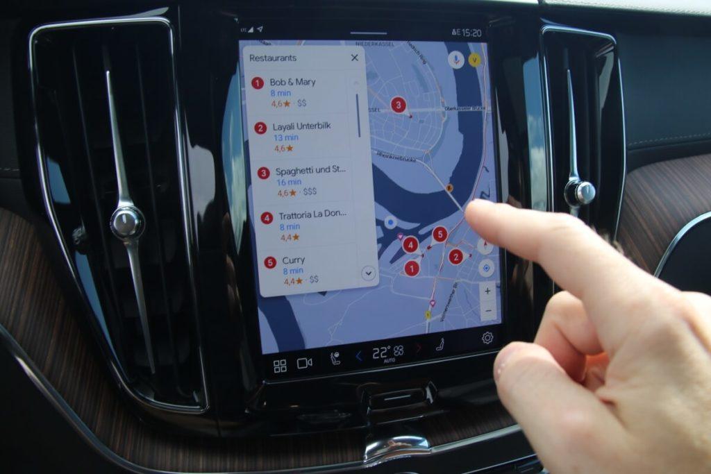 Google Maps Navigation mit Sonderzielen
