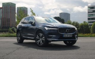 Volvo XC60 Inscription (2022) Denim Blue Metallic