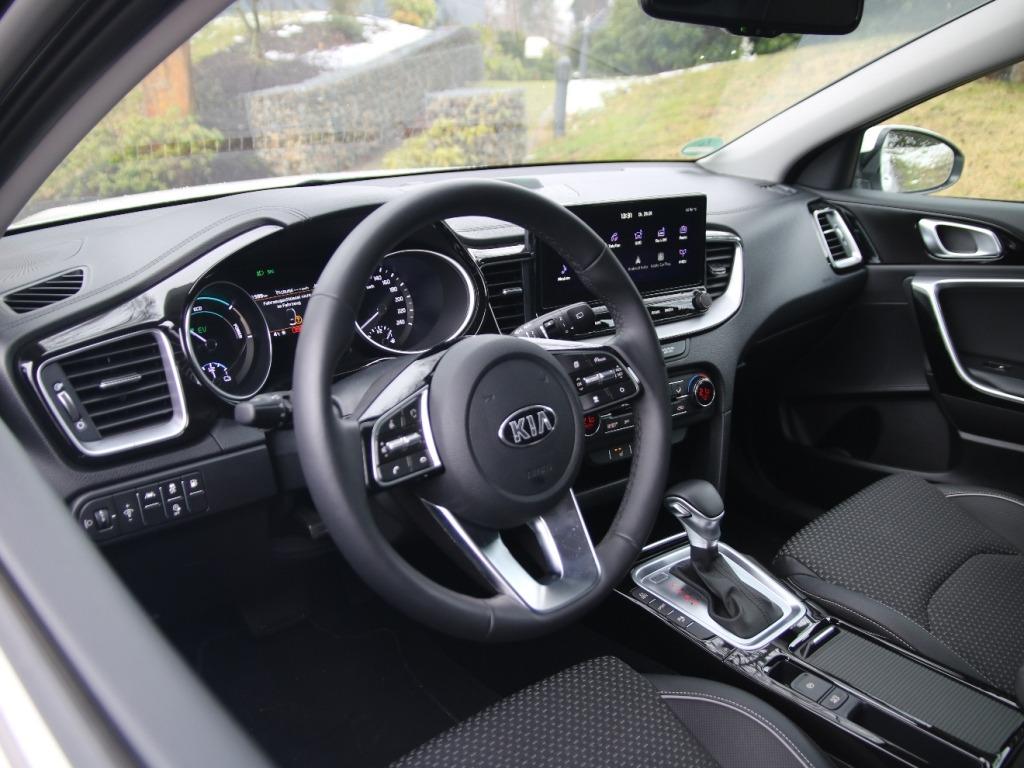 Kia XCeed Plug-in Hybrid Innenraum in der Ausstattungslinie Spirit