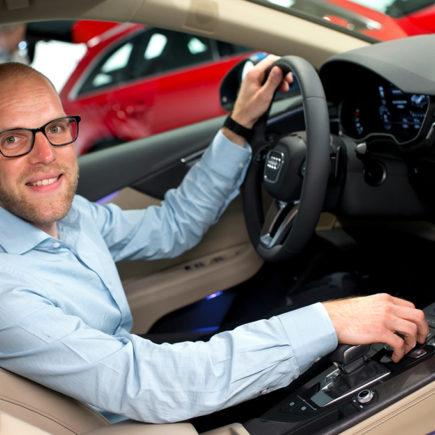 Audi A4 (B9), Daniel Przygoda