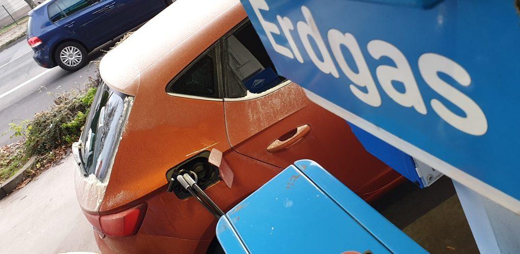 Seat Leon 1.5 TGI XCELLENCE, Erdgastankstelle, CNG, Aral, Empfehlung