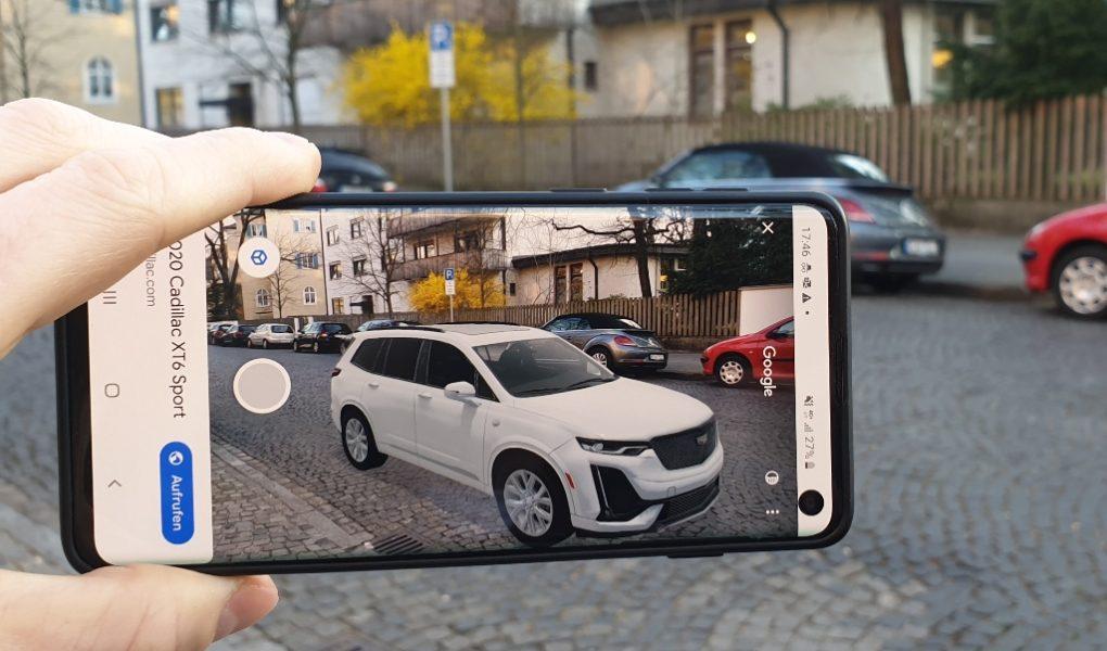 Google AR: Cadillac XT6