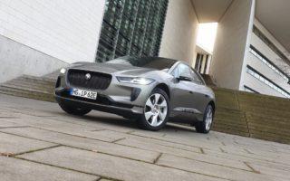 Jaguar I-Pace (2020) - Front, Test