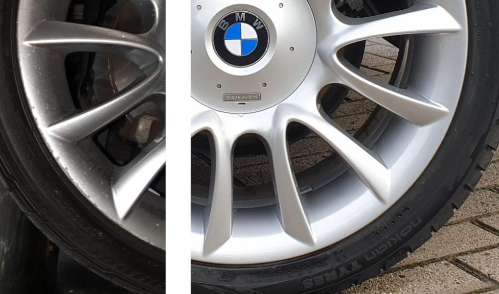 BMW V-Speiche 152 Individual-Felge, Smartrepair