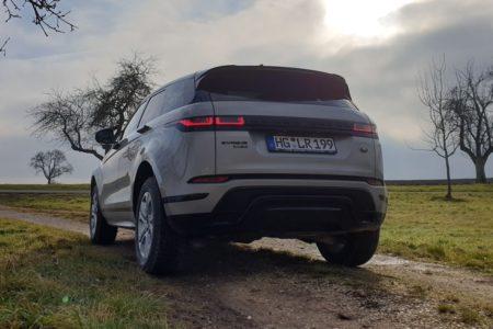 Range Rover Evoque, Soul Pearl Silver, Test