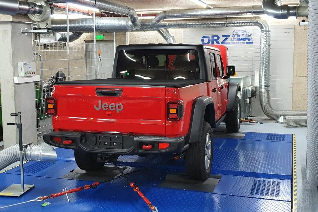 Maha-Leistungsprüfstand, Jeep Gladiator, 2020