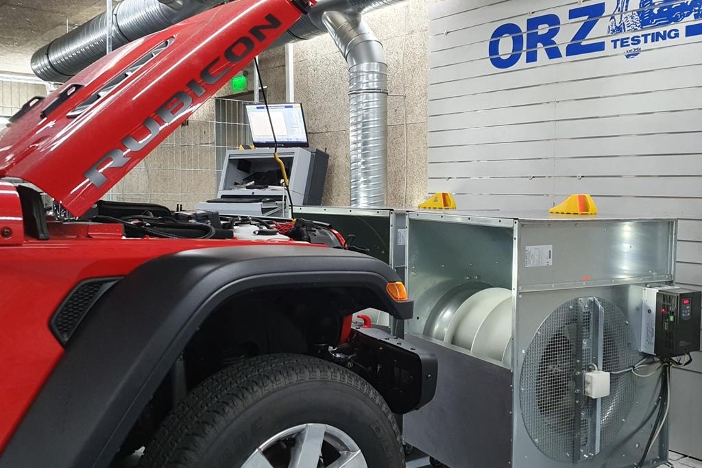 Lüftung, ORZ, Jeep Gladiator, 2020, MAHA
