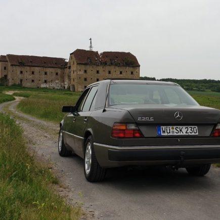 Mercedes W124 Limousine, Youngtimer
