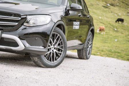 AEZ Panama dark, Felgen, SUV, Mercedes, Nokian Tyres