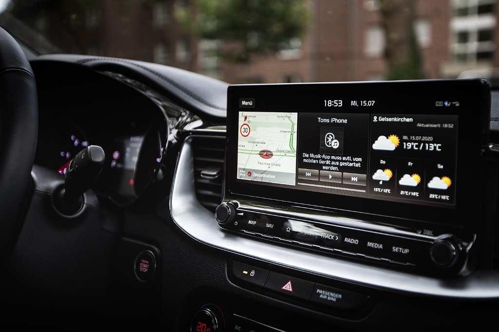 Kia XCeed Infotainment (Foto: Karla Schwede)