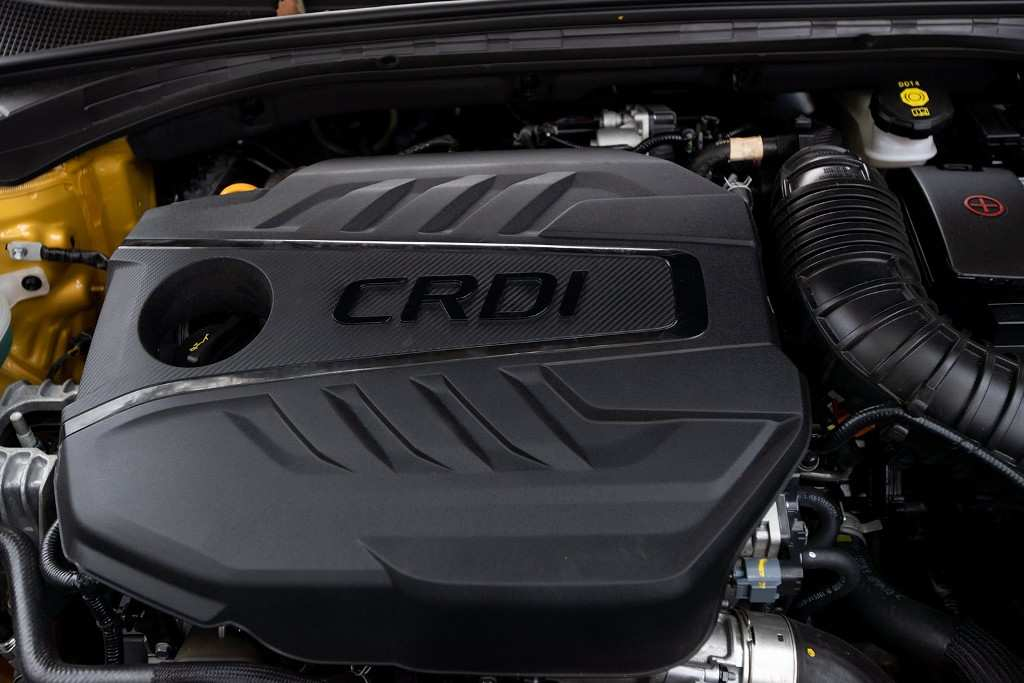 Kia XCeed Diesel 48V Mild Hybrid-Motor (Foto: Karla Schwede)