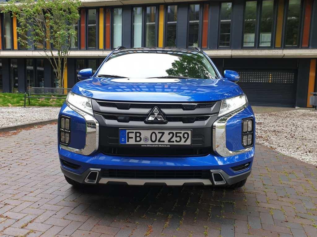 Mitsubishi ASX Front, Kühlergrill, Facelift, vorne