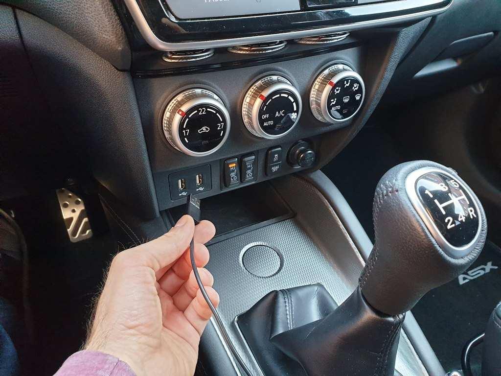 Mitsubishi ASX USB-Anschlüsse, Klimaanlage, Sitzheizung