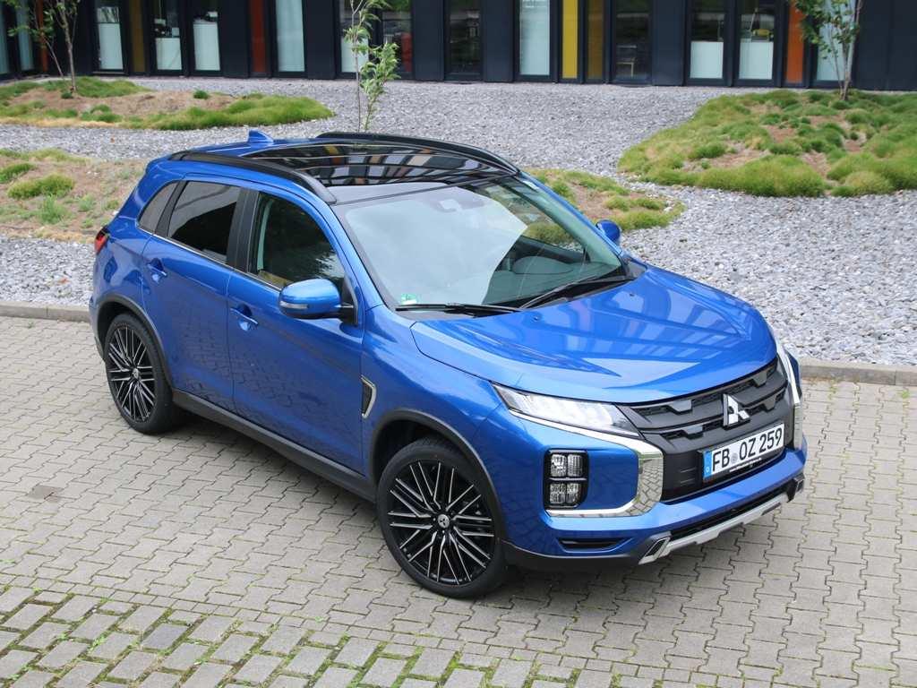 Mitsubishi ASX Facelift Blau