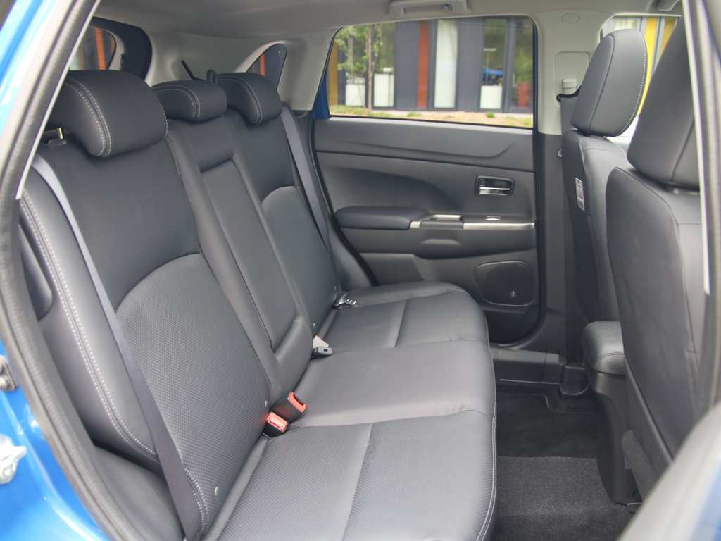 Mitsubishi ASX Rücksitze, Rücksitzbank, Leder