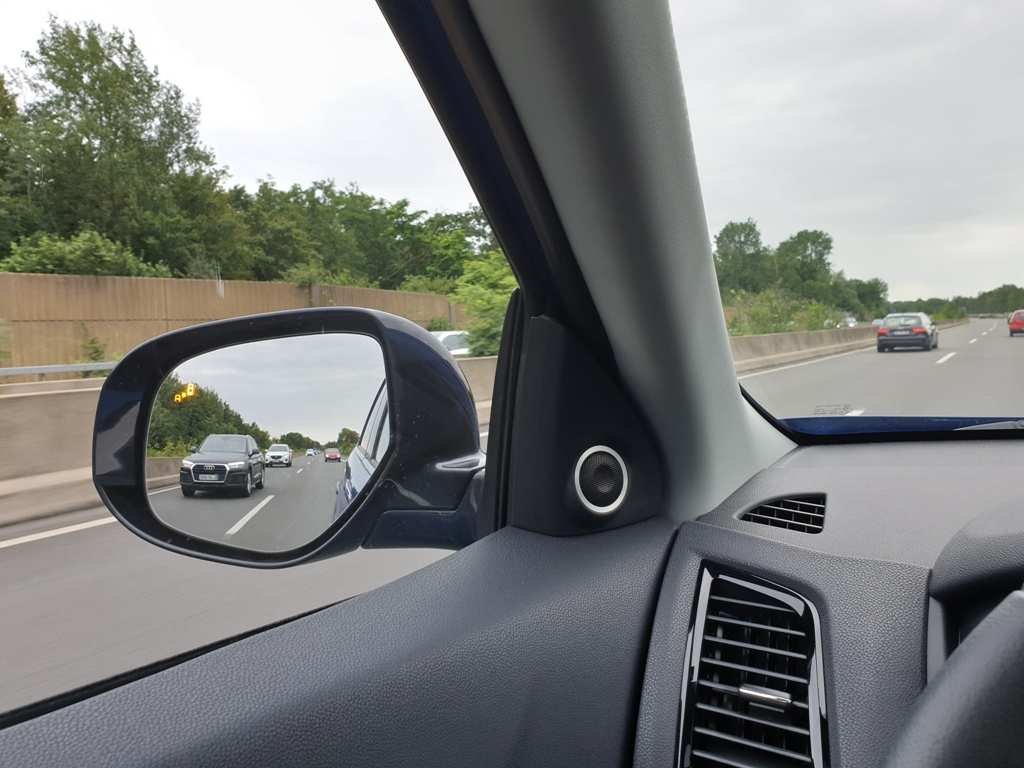 Mitsubishi ASX Außenspiegel, Übersicht, Toter Winkel