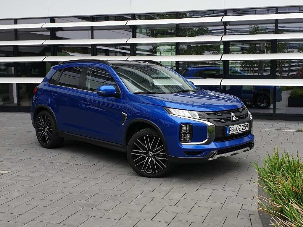 Mitsubishi ASX Laser Blau Metallic