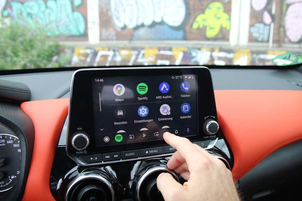 Nissan Juke, Android Auto, Infotainment, Touchscreen