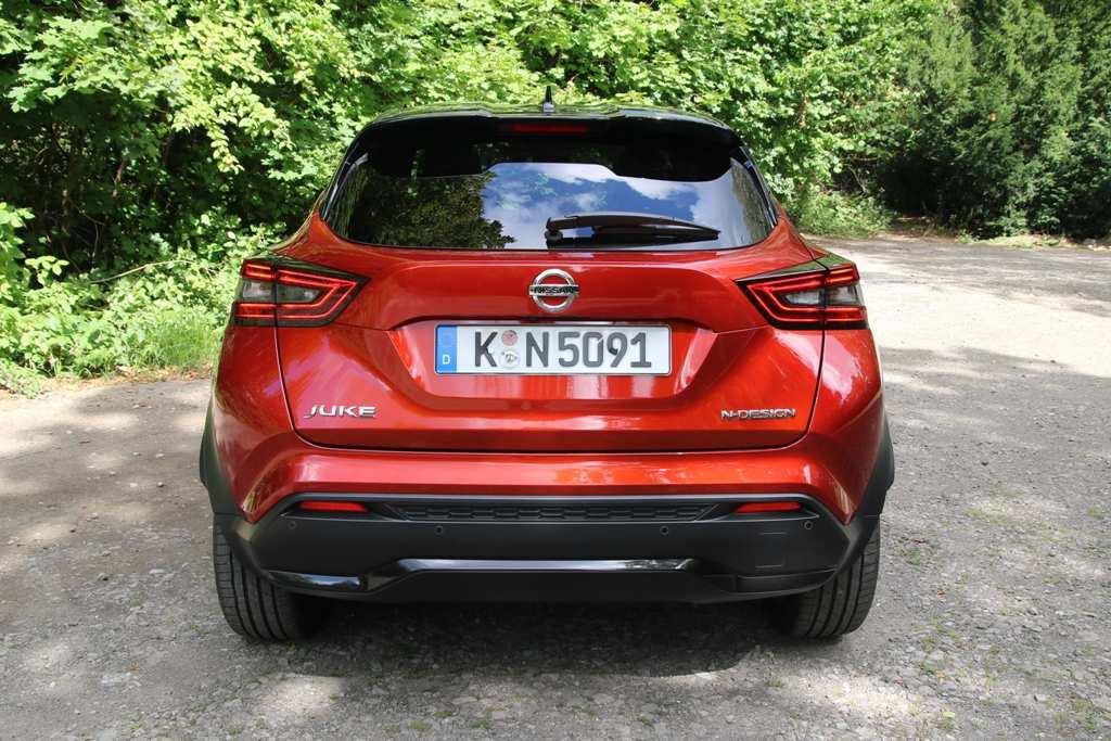 Nissan Juke Heckansicht, Heck, LED-Rückleuchten