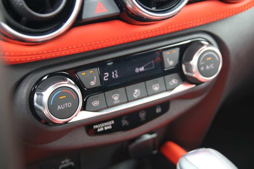 Nissan Juke mit Klimaautomatik und Sitzheizung