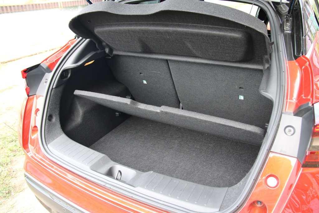 Nissan Juke Kofferraum, Laderaumboden
