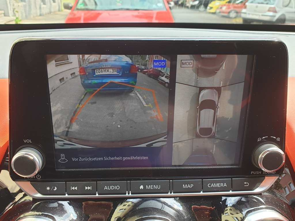 Nissan Juke Rückfahrkamera 360° Around View