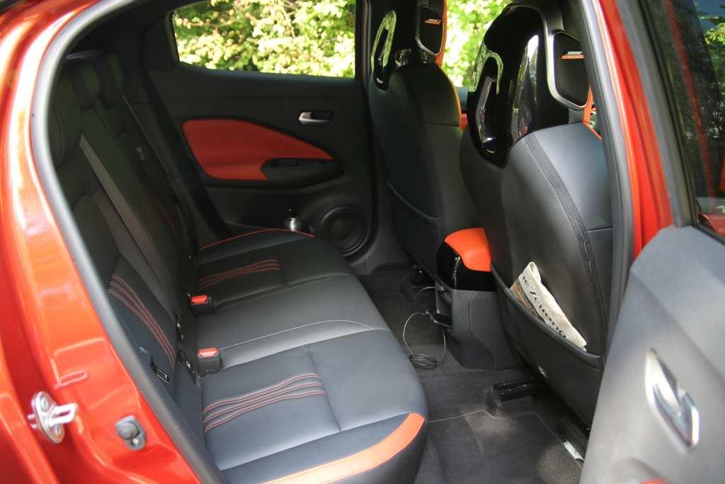 Nissan Juke Rücksitzbank, Rücksitze