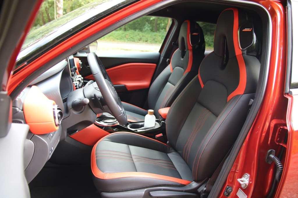 Nissan Juke Ledersitze, orange, BOSE