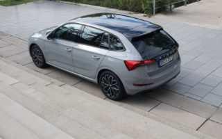 Škoda Scala, Stahl-Grau, Fahrbericht