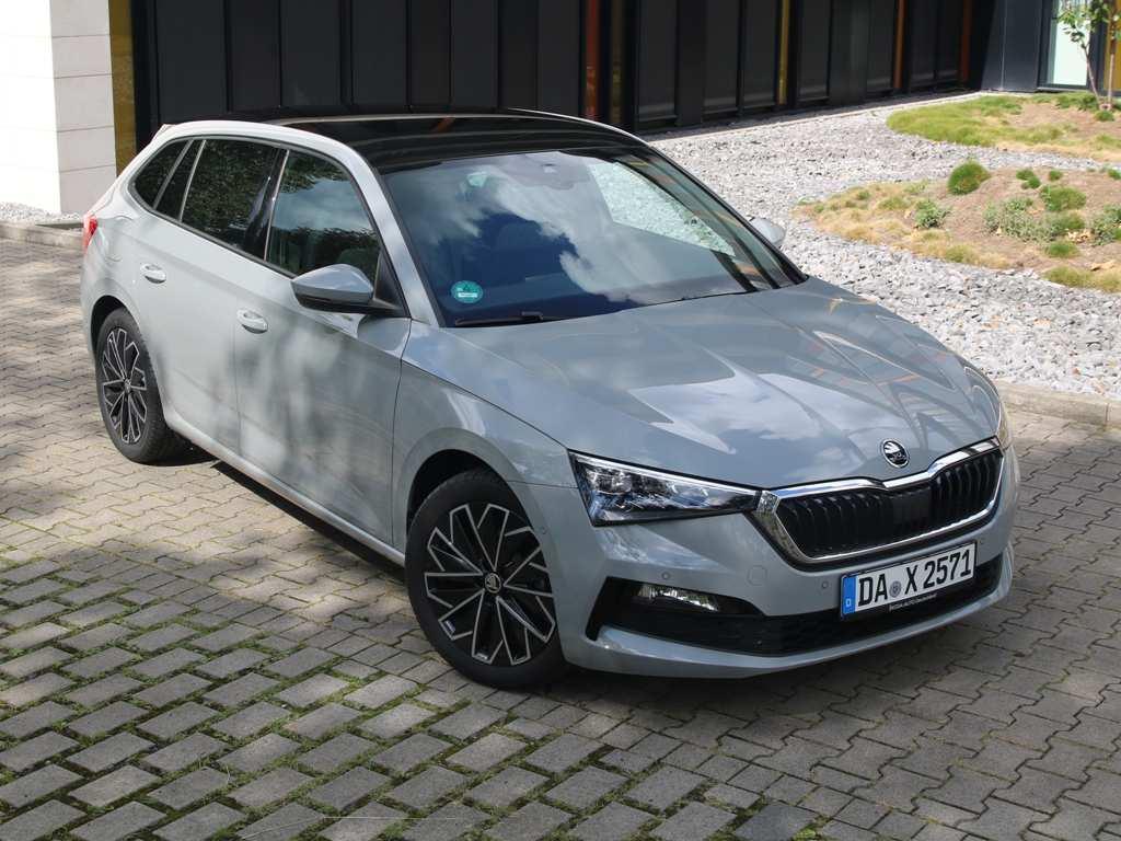 Škoda Scala STYLE, 2020, Sonderlackierung Stahl-Grau