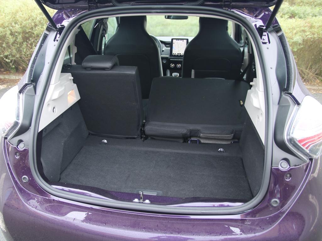 Kofferraum, Asymmetrisch umklappbare Rücksitzbank