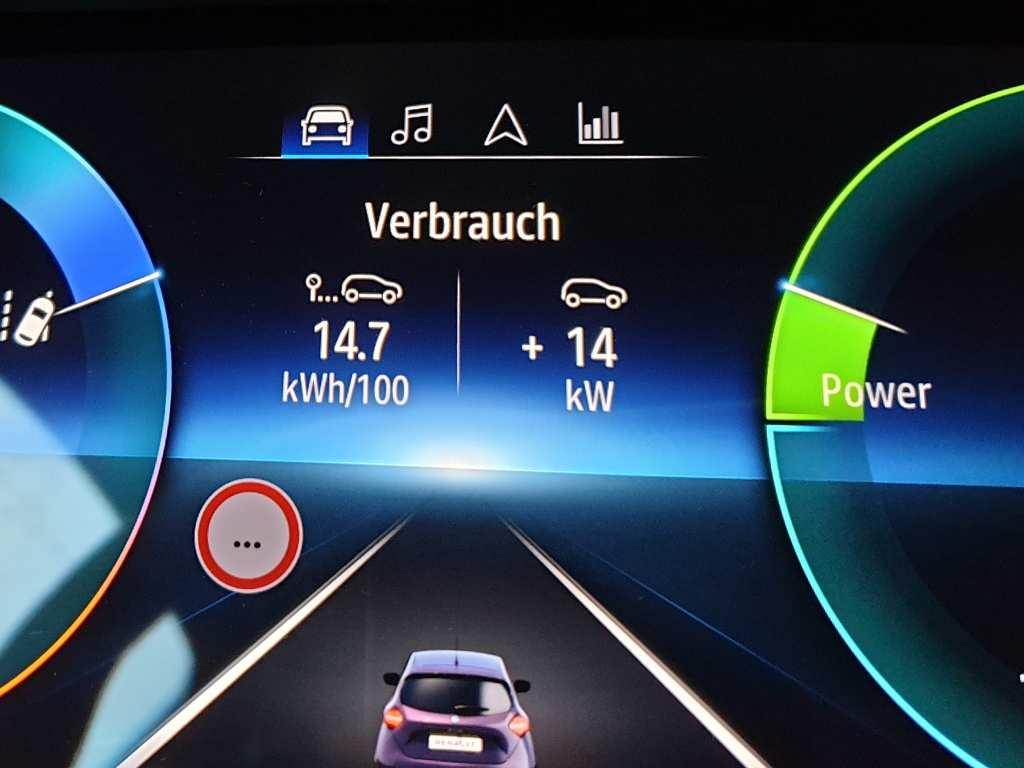 Zoe Facelift 50 kWh Praxis Verbrauch, Testverbrauch
