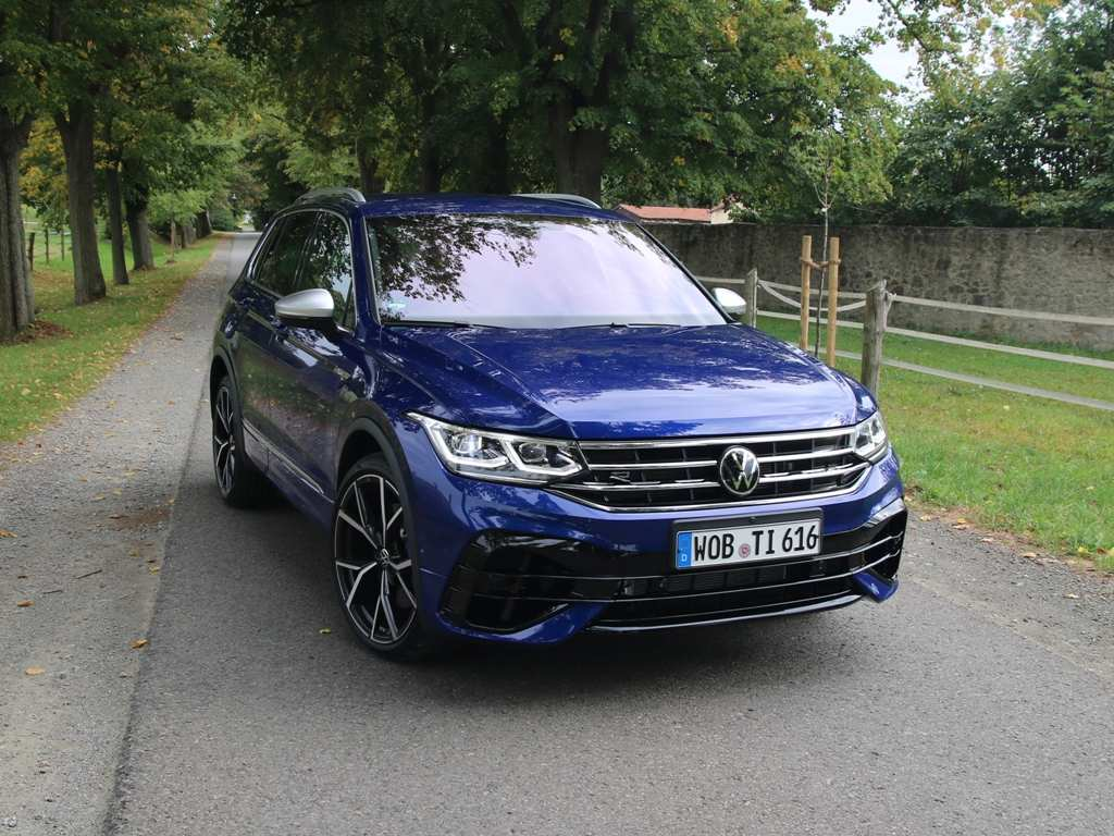 VW Tiguan R (2020) Test
