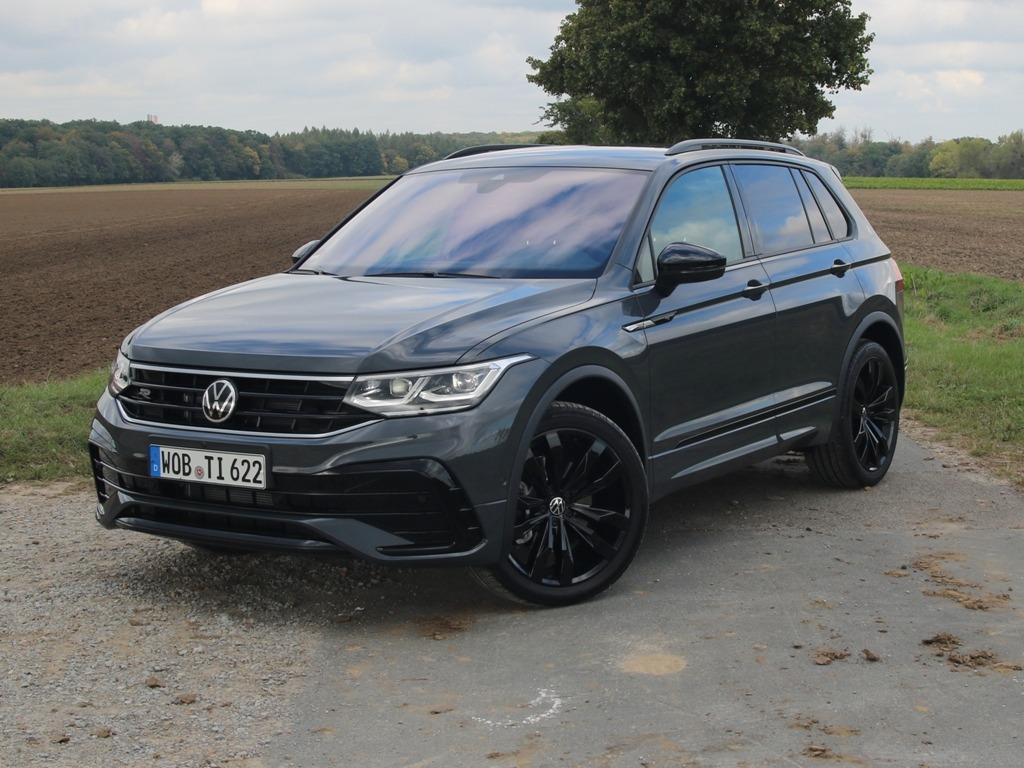 VW Tiguan R-line - neues Design + neue Technik für das ...